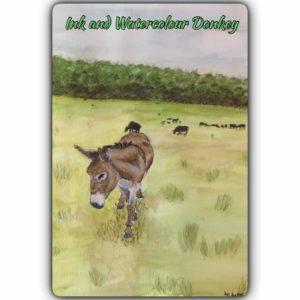 Ashi Art Donkey