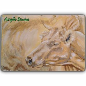 Ashi Art cow