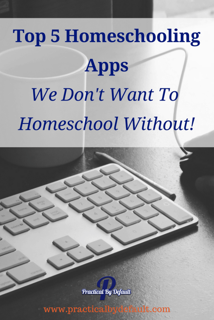 Do you love making your busy life easier? Sharing Our Top 5 Homeschooling Apps We LOVE!