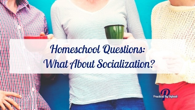 Homeschool Questions: What About Socialization?