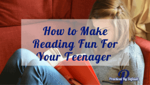 Lets make reading fur for your teen