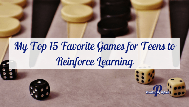 Ditch the drills and have fun in your homeschool with games. Here is our favorite lists