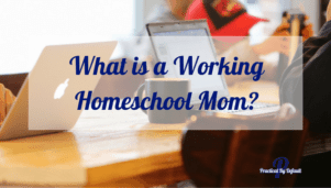 What is a working homeschool mom? Does it matter?