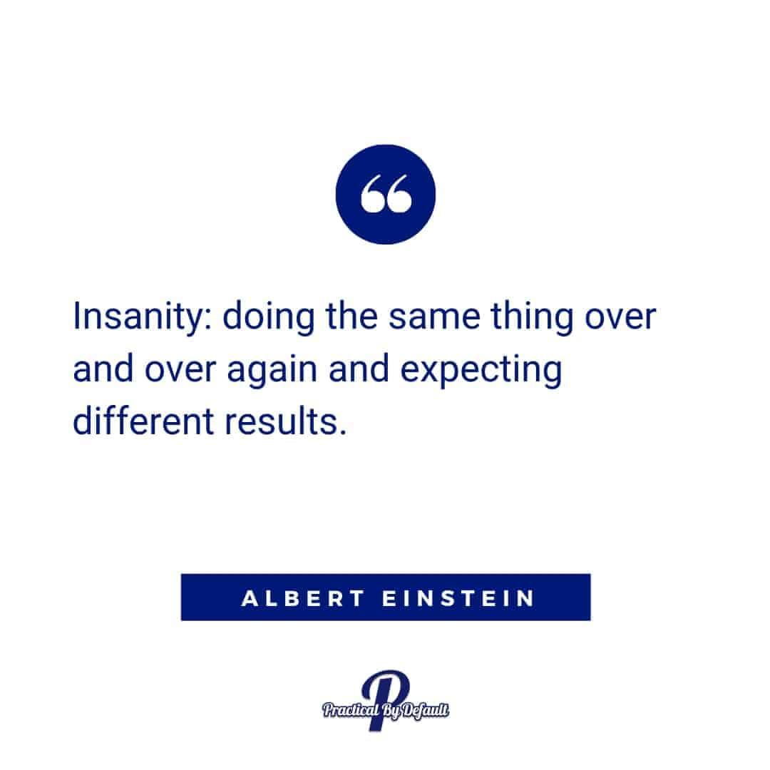 Albert Einstein quote Goal setting