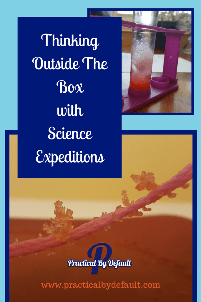 Using Little Passports Science Expeditions to encourage my kids to think outside the box.