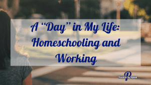 """A """"Day"""" in My Life: Homeschooling and Working"""