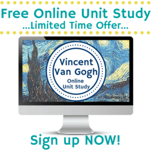 Teach your teen art with this free online unit study!