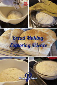 Making bread with my kids!