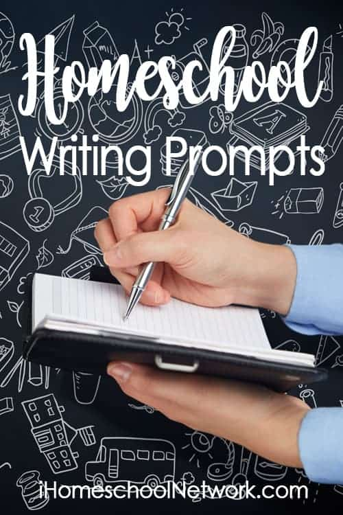 Writing prompts Ihomeschoolnet