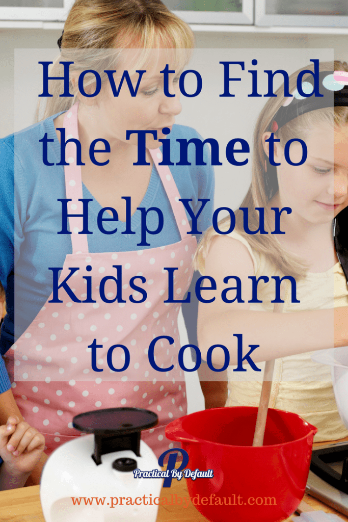 Do you want to teach your child to cook but finding the time is a struggle? Sharing a few tips I used to find the time to teach my teens to cook.