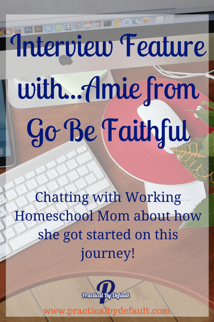 Chatting with Working Homeschool Mom about how she got started on this journey!