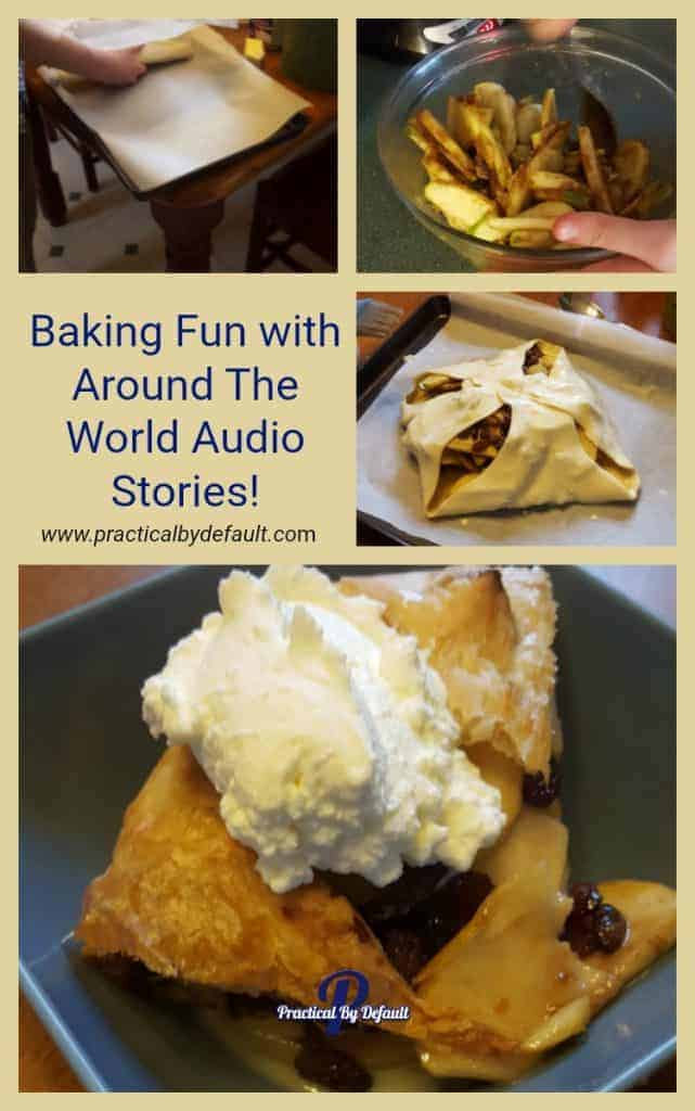 Learning hands on with baking fun Around The World Stories!