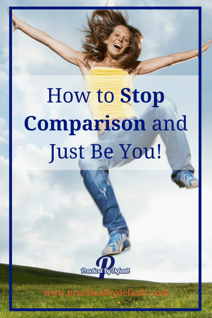 Do you ever get sucked into the trap of comparing your life, your kids, your work, your ...? This is the hardest thing you will ever have to deal with. But you can over come it and Just be YOU!