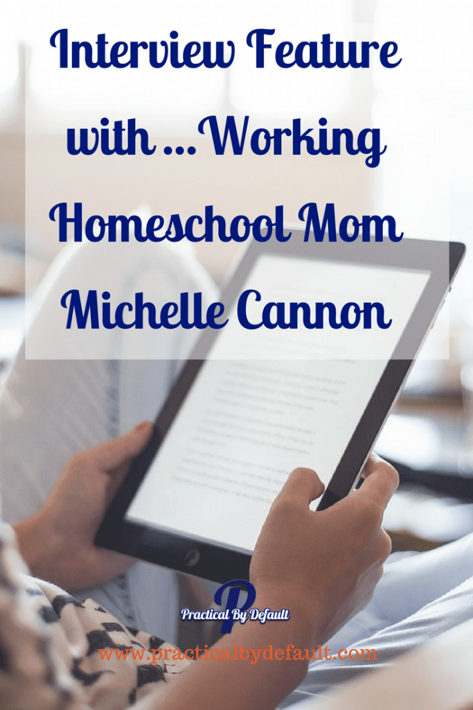 Are you wondering if you can work and homeschool? I'm chatting with Working Homeschool Mom Michelle Cannon and she is telling us how she does both!