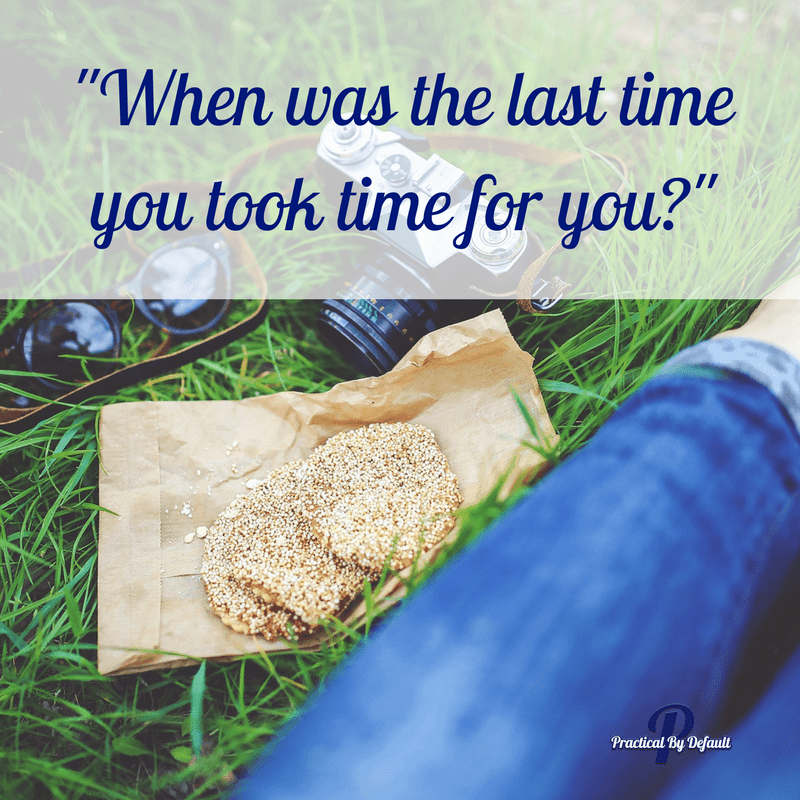 We all need a few minutes to ourselves. When was the last time you took time for you working homeschool mom?