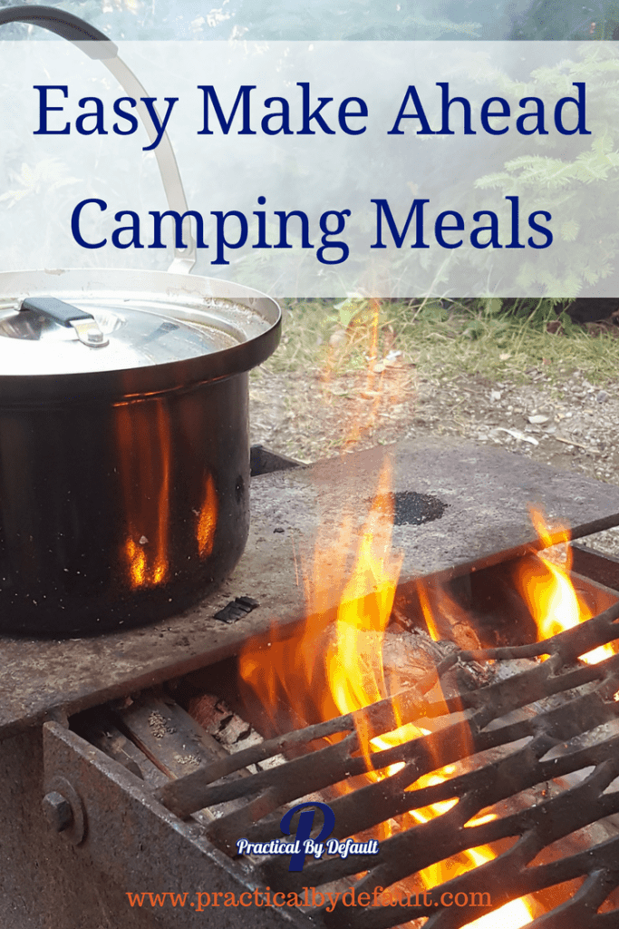 Are you getting ready to go camping with your family? Grab this list of Easy Make Ahead Camping Meals