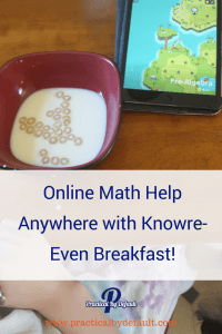 Online Math Help Anywhere Even Breakfast