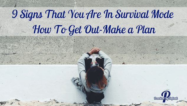How To Get Out-Make a Plan
