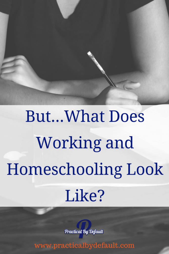 Is homeschooling flexible enough for working and homeschooling? What does it look like? These moms are sharing their schedule with you.
