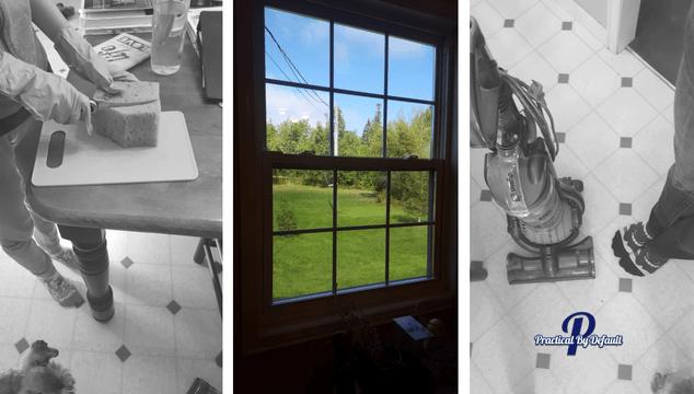 Teaching teens life skills like cleaning windows with Skill Trek
