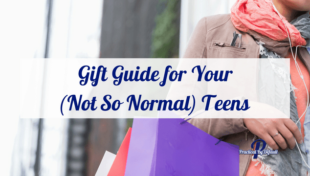 Do you have a not so normal teen at home? Check out our gift guide and make shopping a breeze!