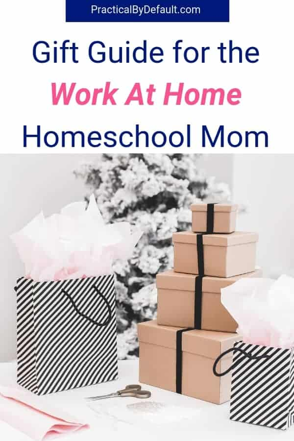 Gift Guide for the mom who works at home. Get her the gifts she will love! #giftguide #gifts #workathome