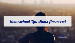 Finding answers to your homeschool questions can be tough. Having a place to ask is always nice.
