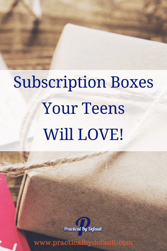Are you wanting to give your teen a gift but don't know where to start? Why not try a subscription box to brighten their day. Sharing top picks for teens