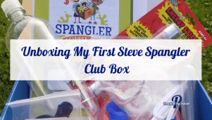 Unboxing My First Steve Spangler Club Box