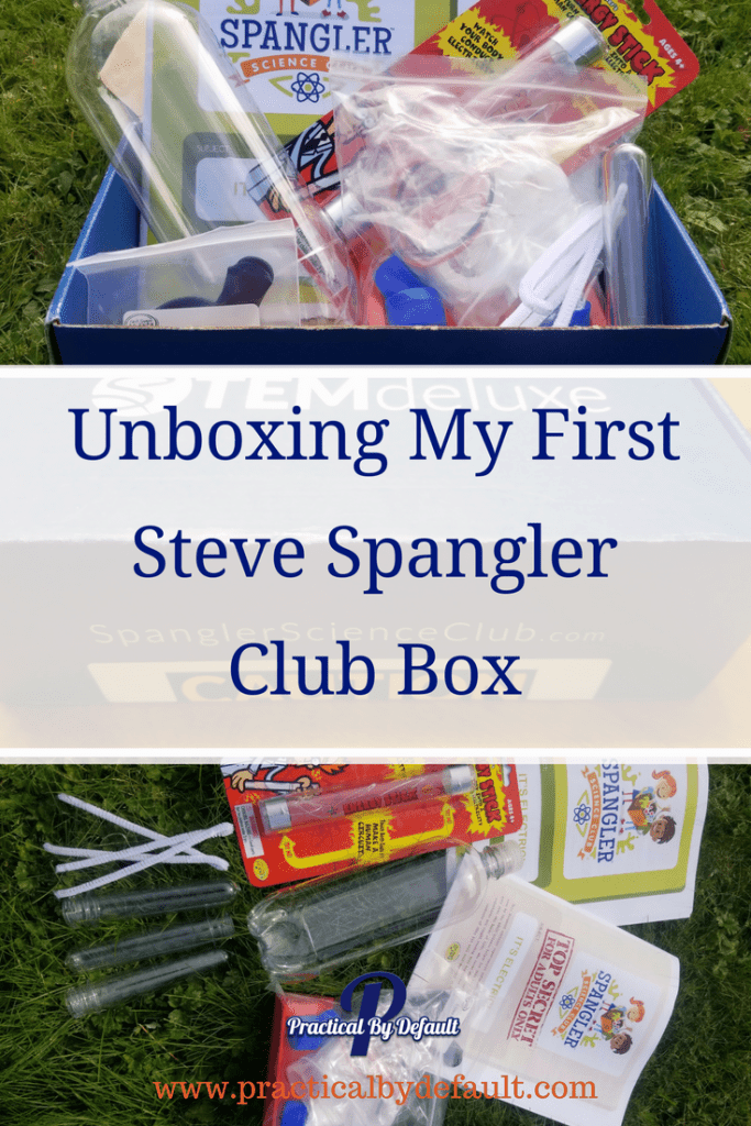 Are you curious about the Steve Spangler Science Club Boxes? Come see what is in our box!