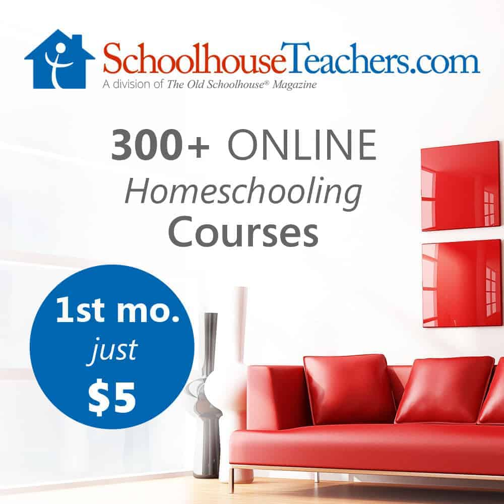 SchoolhouseTeachers.com Family Education starts here