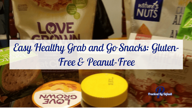 Are you looking for great easy grab and go healthy snacks? Check out what I found for gluten free peanut free snacks I'm eating.