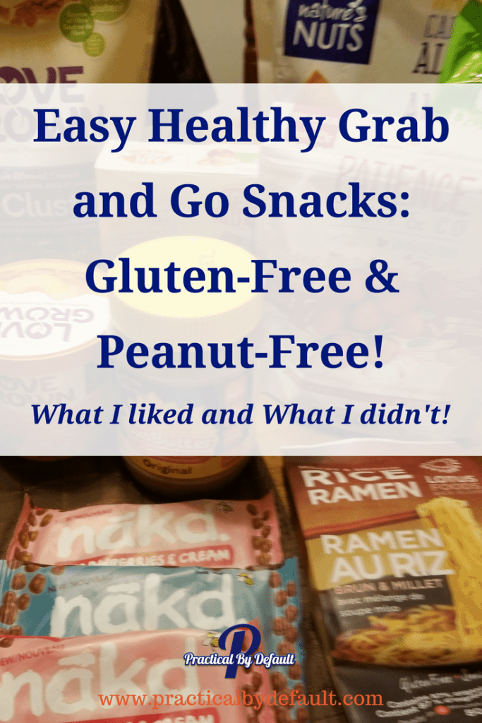 Are you looking for quick, easy, healthy snacks for on the go? Im sharing what I'm eating for glutenfree, #peanutfree snacks!