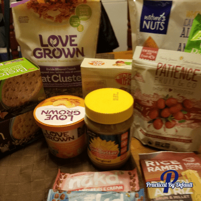 Easy Healthy Grab and Go Snacks: Gluten-Free & Peanut-Free