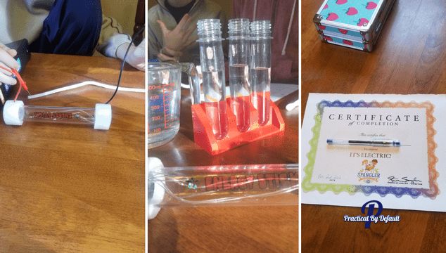 Did you know you can add homeschool fun even if you are a busy working mom? Check out this Subscription box from Steve Spangler