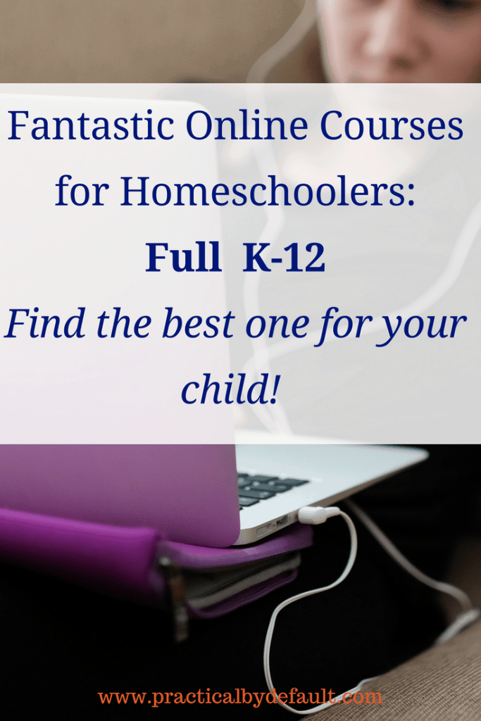 Do you need online homeschool resources for your child? Sharing a list of programs and curriculum for K-12 homeschooling students.
