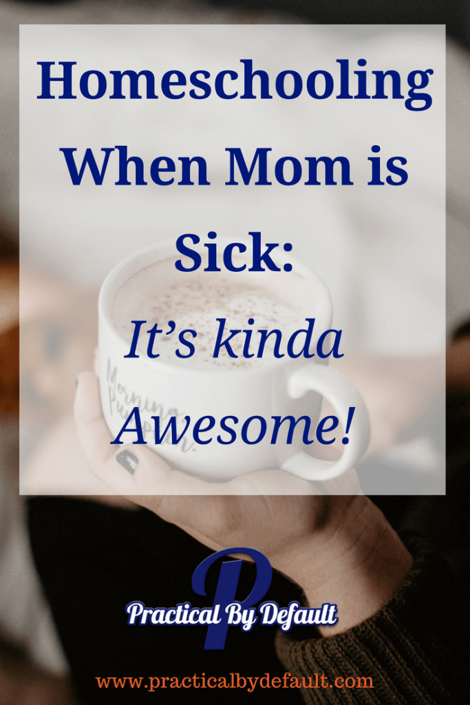 Even mom gets sick sometimes. That doesn't mean that homeschooling has to be a drag. You can make #homeschool FUN!