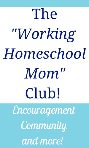 The online community for working homeschool moms