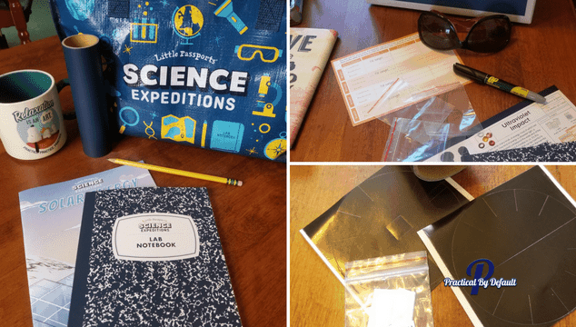 Solar energy Science Expeditions Box