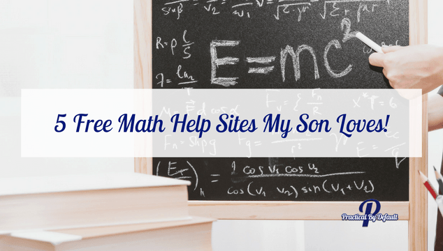 Free Math Help Sites My Son Loves!