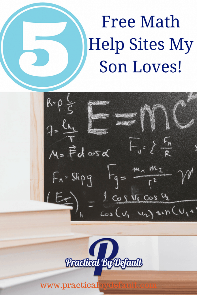 Math books 5 Free Math Help Sites My Son Loves!