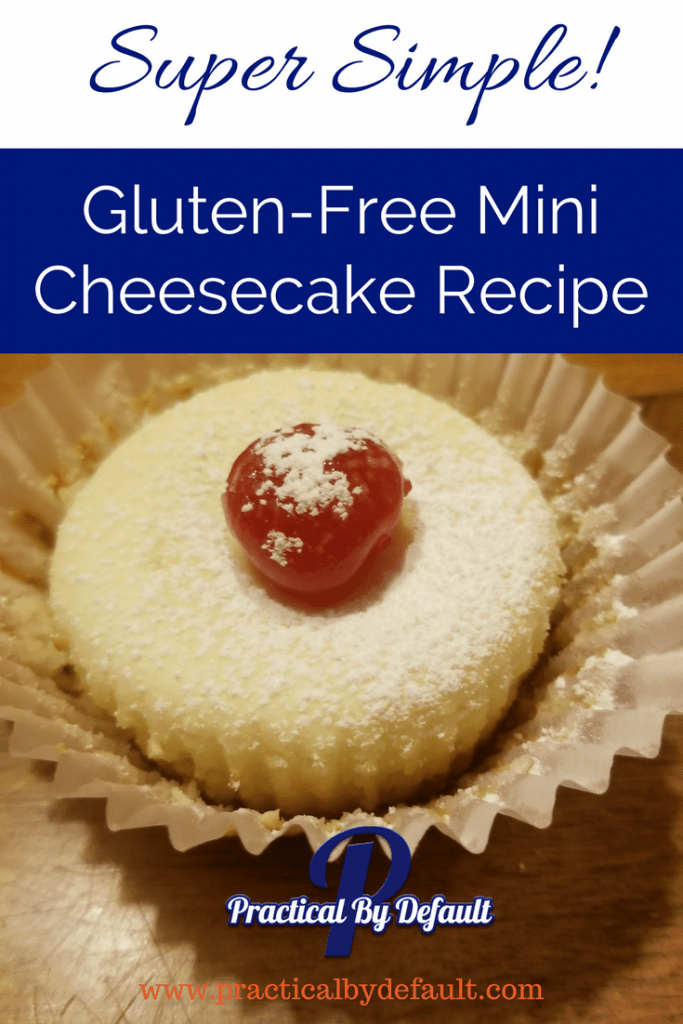 So simple gluten-free mini cheesecake recipe that your kids can make!