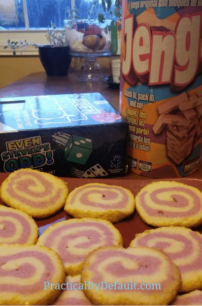 Homeschool cooking Pinwheel Sugar cookies
