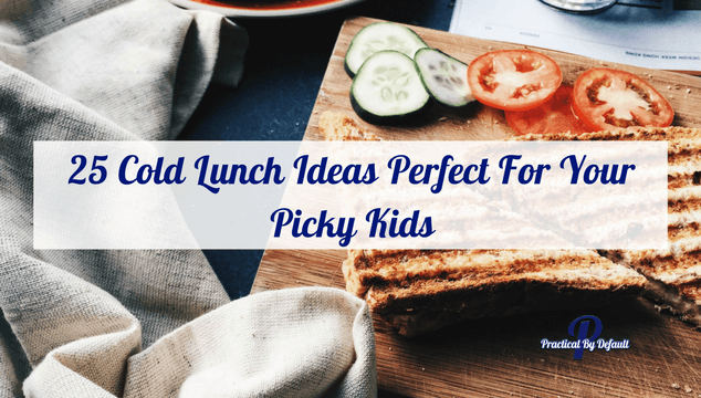 25 Cold Lunch Ideas Perfect For Your Picky Kids a list of ideas