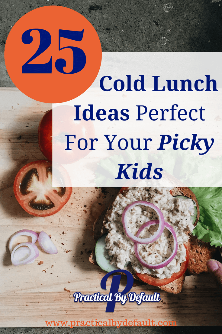 No need to heat up the kitchen for these cold lunches for the picky eater