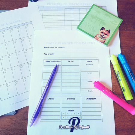 Surprising Reasons I Now Love a Printable Homeschool Planner My favorite sheets
