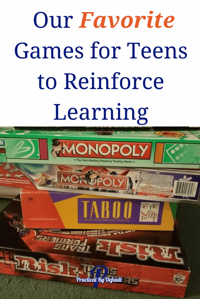 Connect with your kids! Our Favorite Games for Teens to Reinforce Learning