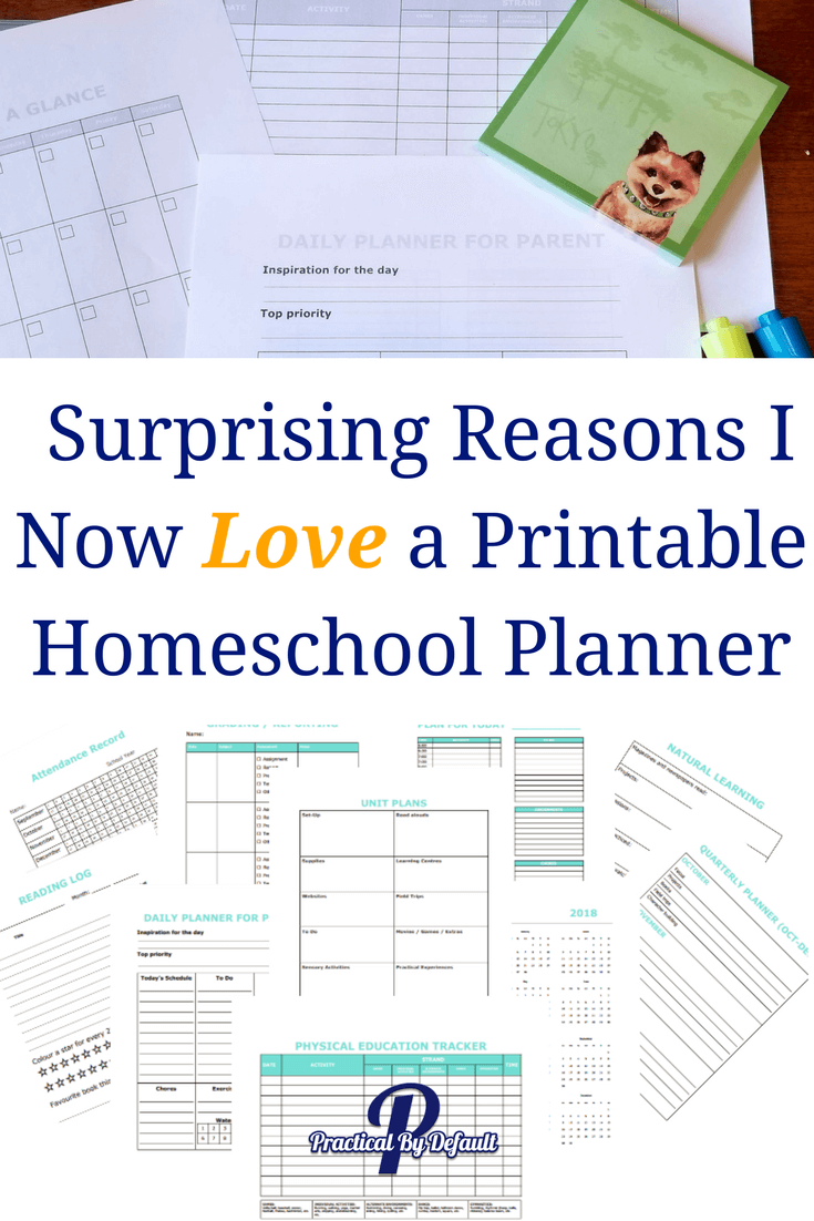picture about Printable Homeschool Planners referred to as Unanticipated Causes I At present Appreciate a Printable Homeschool