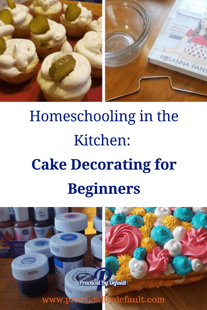 Homeschooling in the Kitchen: Cake Decorating for Beginners #cooking