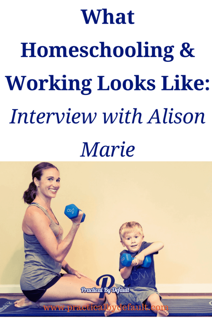 Have you ever wondered what working and homeschooling looks like in action? Join me as I chat with Alison Marie about what is working for her and get inspired!